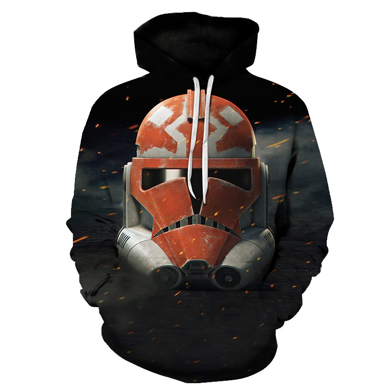 Drop shipping 2019 New Fashion Hoodie movie Star Wars 3d Print Sportswear Men's women's Casual Sweatshirt