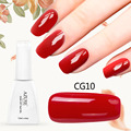 Azure 12ML Classic Red Color Gel Nail Polish Soak Off UV Nail Gel Lak Long Lasting Vernis Semi Permanent Nail Varnish