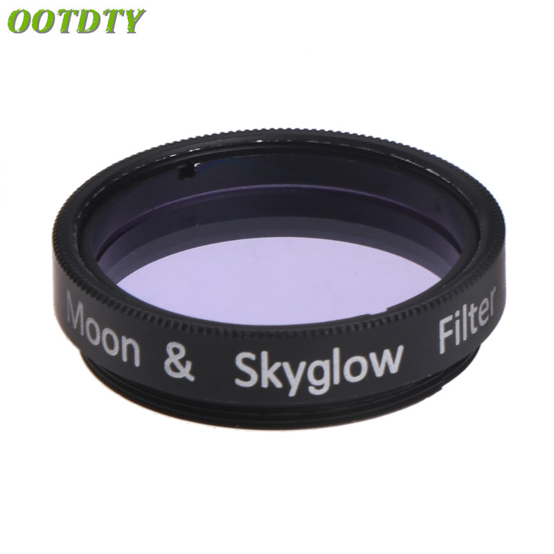 1.25 Inc Moon & Skyglow Filter Telescope Solomark Astronomic Eyepce Ocular Glass