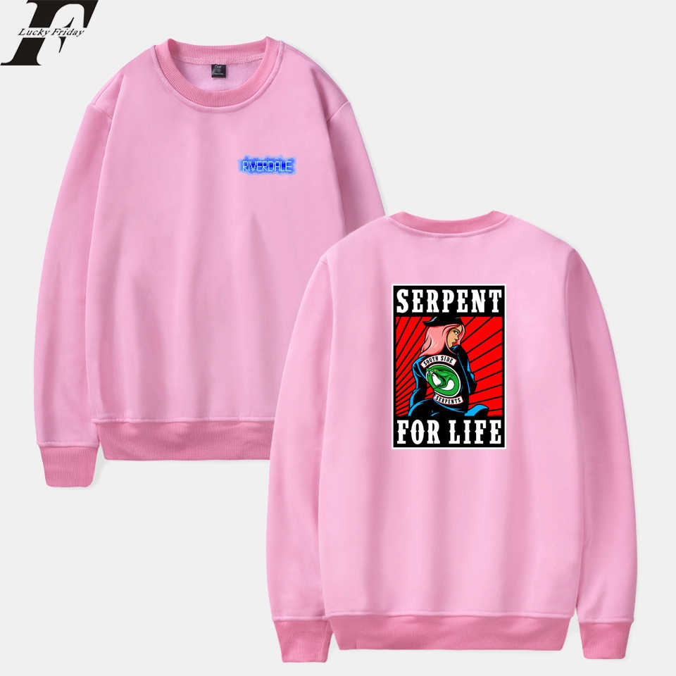 LUCKYFRIDAYF Kpop Riverdale Spring Capless Hoodies Men/Women Sweatshirt Harajuku Fashion Tracksuit Hoodie Coat Unisex Plus Size