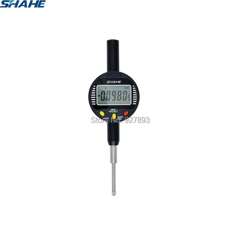 shahe 0 25 mm electronic digital indicator 0 001 mm measuring instruments indicator gauge digital indicators