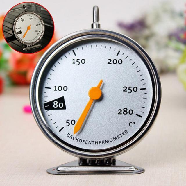 1pc 9*7 cm Food Meat Temperature Standing Dial Oven Thermometer ...