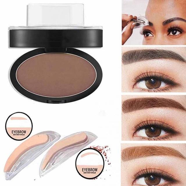 3pcslot Eyebrow Shadow Set Eyebrow Powder Seal Waterproof Eyebrow