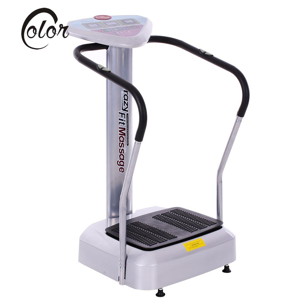 Whole Body Vibrating Crazy Fit Massage for Weight Loss Body Shaper Machine Power Vibration Plate Massage Body Slimming Fitness