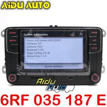 6RF 035 187 E CarPlay Android の自動 RCD330 RCD340 プラス Noname ラジオ 6RF035187E(China)