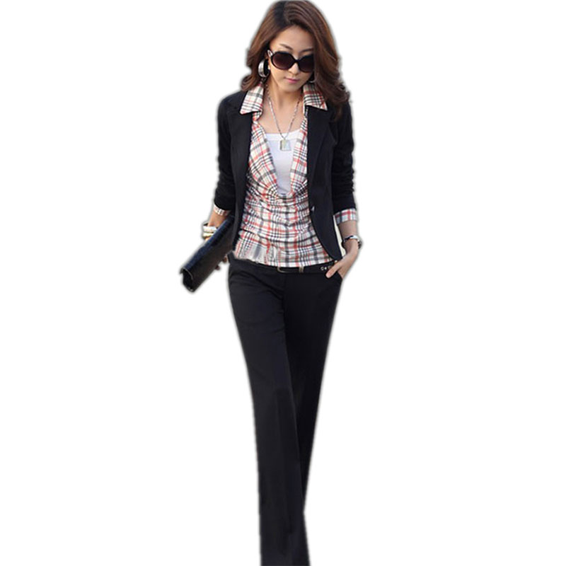 Short Solid Turn-Down Collar Slim Blazers Women Fashion Long Sleeve Wild Business Suits Office Lady Elegant Blazer High Quality