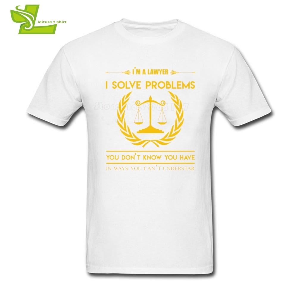 I Am A Lawyer T Shirt Teenage Newest Tee Shirts Leisure Summer Comfortable T-Shirt Men Summer Crew Neck Cool Teenboys Top