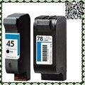 Для HP45 HP51645A для HP78 C6578D Untuk Картриджи для HP Deskjet 710C, 820Cse, 820Cxi, 920C, 930C, 948C 950C, 970CXI, 990CXI, 995CXI