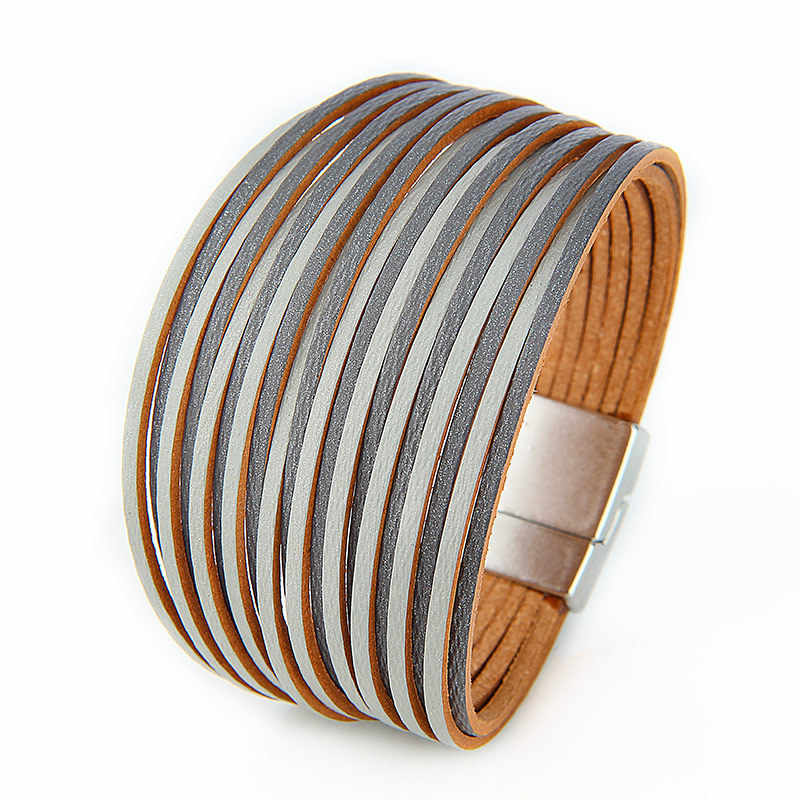 Verkauf Vintage Mehrere Schicht PU Leder Armband Für Frauen Männer Neue Bead Perle Charme Wickeln Armbänder 2019 Femme Mode Schmuck