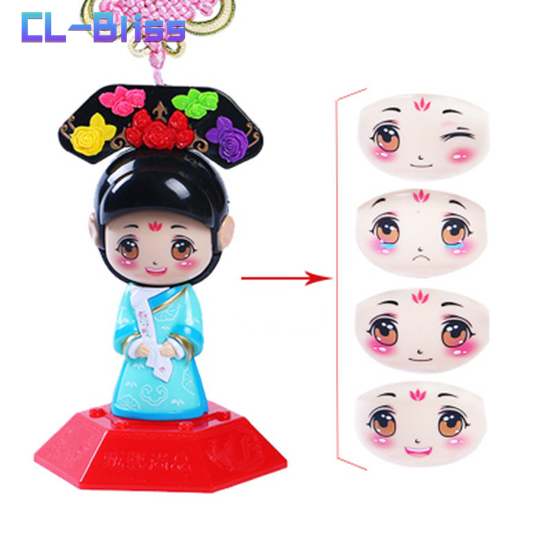 Chinese Gift for The Guest Emperor PrinceFace Changing Doll Baby Shower Kids Birthday Party Toy Chinese Shopping Online Store,B