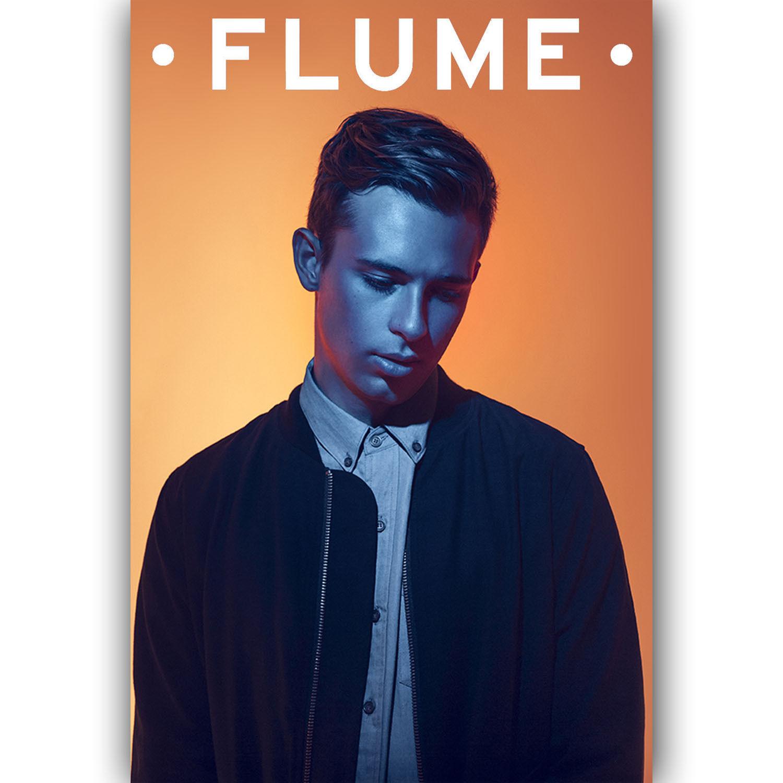 Flume Custom New Art Silk Poster Wall Decor