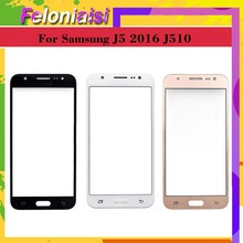 10Pcs/lot For Samsung Galaxy J5 2016 J510 J510F J510FN J510M J510H SM-J510F Touch Screen Outer Glass TouchScreen Front Panel смартфон samsung galaxy j5 2016 sm j510fn white