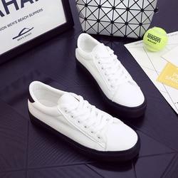 2017 leather womens shoes luxury brand basket femme sapato tenis feminino casual shoe woman powder black.jpg 250x250