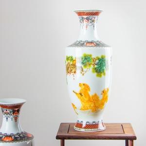 Image 5 - Новое поступление, Классическая традиционная антикварная китайская фарфоровая Цветочная ваза Цзиндэчжэнь для украшения дома и офиса