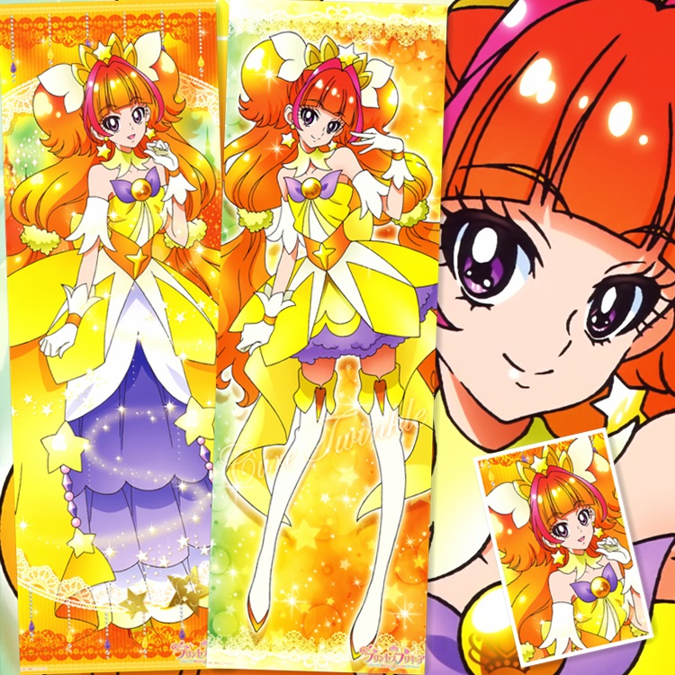 50X150CM Go Princess PreCure Cure Twinkle Kirara Japan cartoon anime wall picture mural poster art cloth