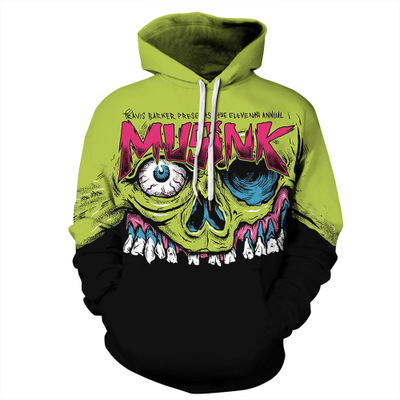 Punk Skull 3d Hoodies Men Women Long Sleeve Thin Pullover Spring Fashion Hooded Sweatshirt Streetwear Tops