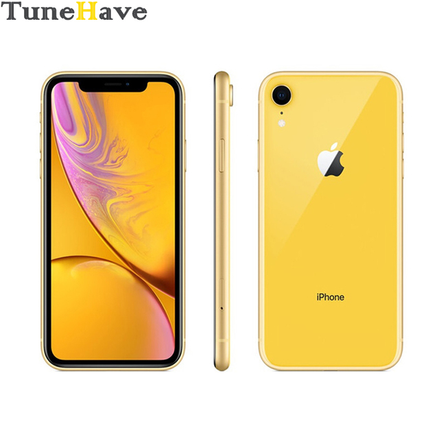 Genuine Original Apple iPhone XR Factory Unlocked Mobile Phone 4G LTE 6.1″ Hexa-core 12MP&7MP RAM 3GB ROM 64GB/128GB/256GB