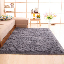 Modern Shaggy Carpets Area Rug for Living room Bedroom Mat Dining Floor Home Decor Carpet Anti-slip Plush Floor Rugs fluffy Rugs