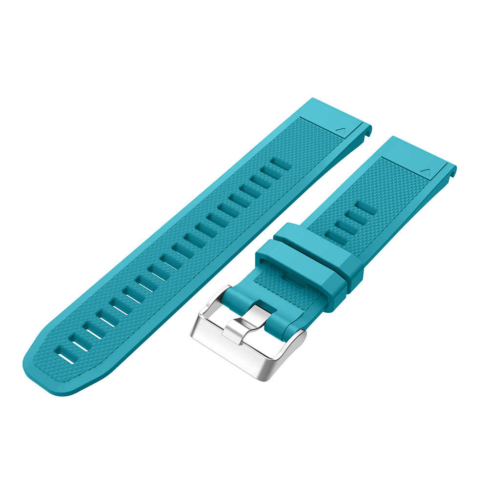 Bracelet de montre 26 22 20mm pour Garmin Fenix 5X5 5S Plus 3 3 HR Forerunner 935 montre à dégagement rapide en Silicone bracelet de poignet facile à monter