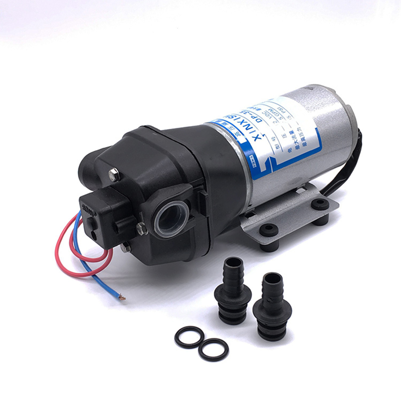 Micro Diaphragm Vacuum Water Pump DP-35 24V DC CE Approved Car pumping Water Chemical Metering Liquid Filter Low Noise free shipping gz 35b 12 12 24v dc 160w double head diaphragm vacuum pump with 70l min vacuum flow