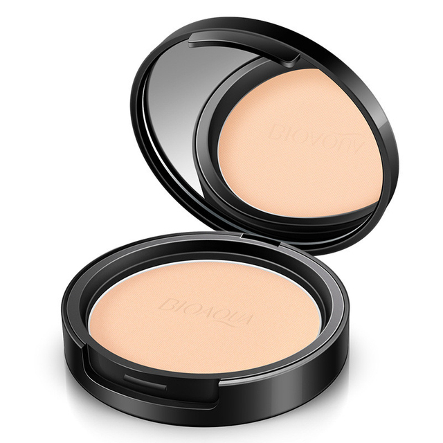 Matte Pressed Powder Makeup Concealer Oil-control Face Setting Foundation Facial Make Up Mineral Compact Powder Cosmetics 5