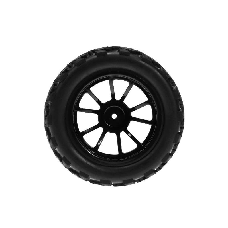 4pcs RC 1/10 Universal Vehicle Model Wheel Tyre for Monster Truck Accessory Remote Control Toys