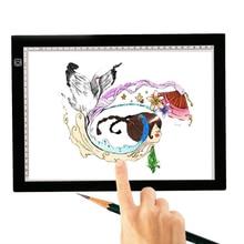 LED Tracing light Box Board Artist Tattoo A4 Drawing Pad Table Stencil Display 840004