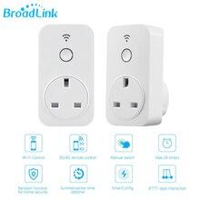 Оригинальный Broadlink SP2 Великобритании Стандартный смартфон управляется через приложение Мощность Электрический таймер Wi-Fi разъем для Умный дом автоматизации