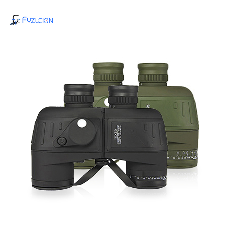 Binocular Military 10x50 Outdoor Professional Hunting Telescope Waterproof Digital Compass telescope high power lll night vision цена