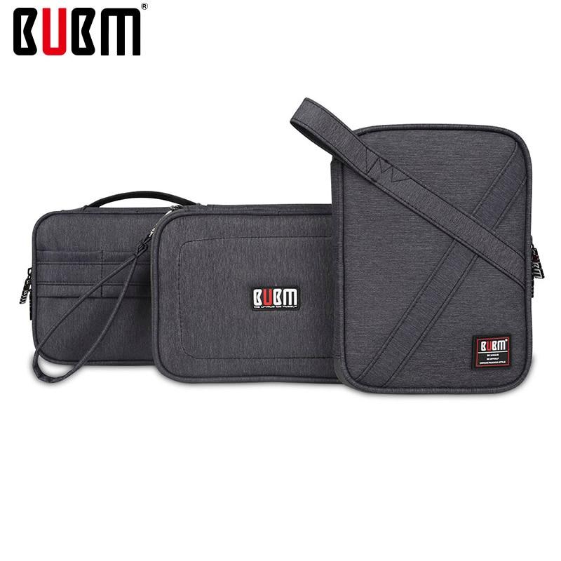 BUBM IPad Mini Digital Receiving Phone Bag Storage Organizer 3 Pcs A Set Separete Combine  Multifunction Travel Accessories