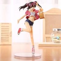 2016 1pcs 20cm Pvc Japanese Anime Figure Love Live Nico Yazawa Picnic Girl Action Figure Collectible