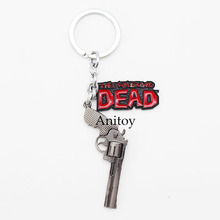 The Walking Dead Rick's Gun Keychain