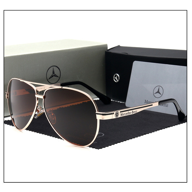 2018 Luxury Mercedes-Benz Polarized Sunglasses