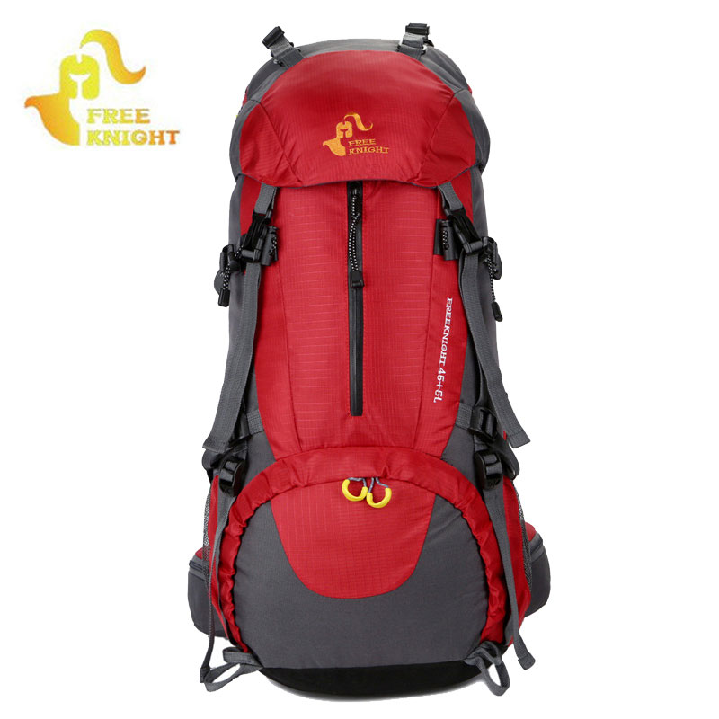50L Camping Hiking Backpacks Travel Bags Outdoor Sports Bag Climbing Backpack Rucksack Rain Cover mochila wanderrucksack XA211WA free knight hiking backpack 50l waterproof sports bag multifunctional outdoor bags camping hunting travel treck mochila backpack