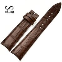 High Quality Genuine Alligator Watch Strap Band Accessories Black Crocodile Leather Watchband Bracelet For Audemars Pigue