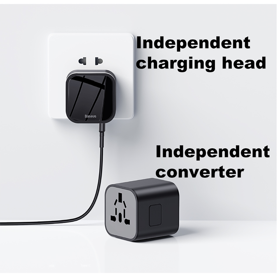 Baseus Universal Quick-Charge Travel Adapter