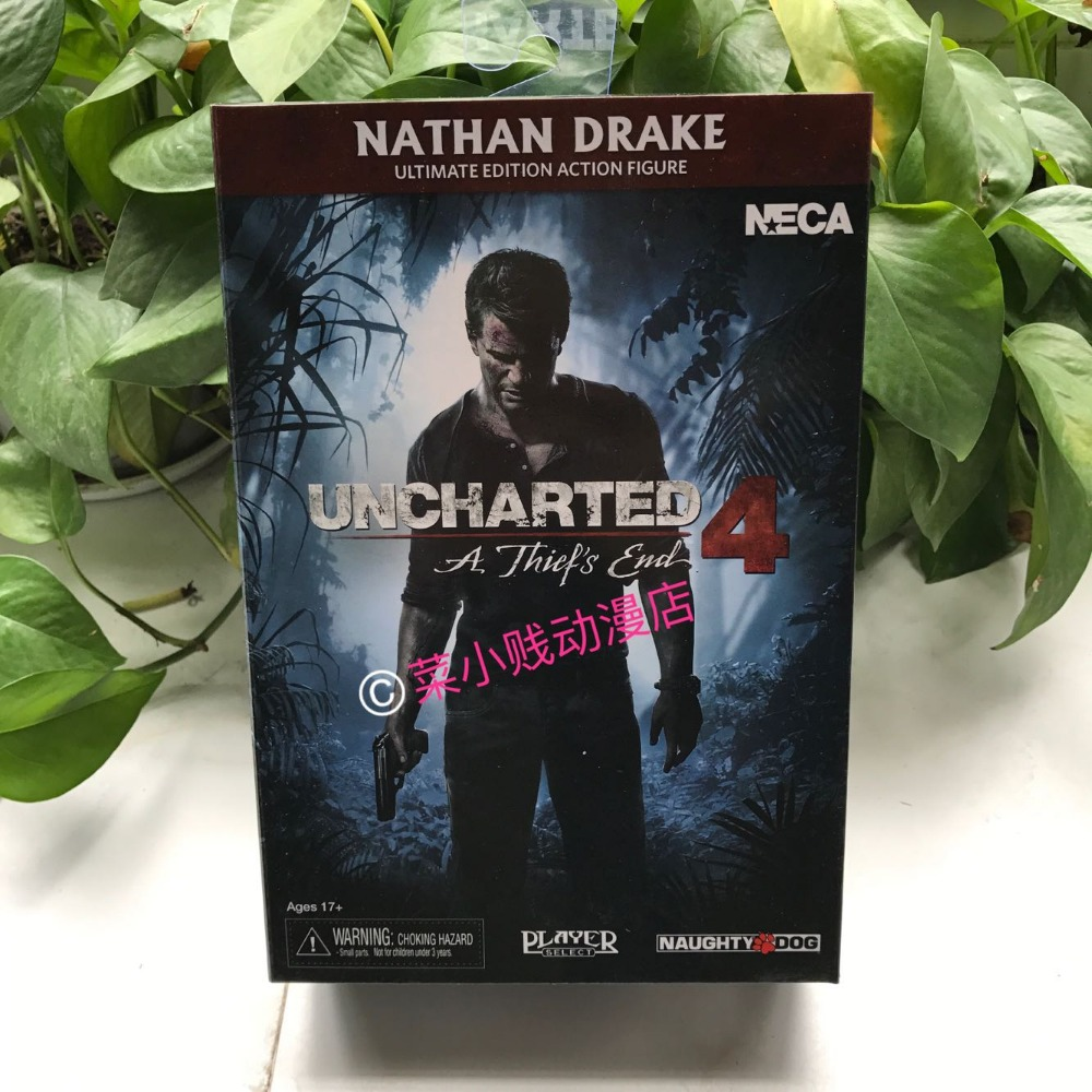 NECA Uncharted 4 Mysterious sea area Thieves Nathan Drake 7-inch Action Figure эван шеймун мир игры uncharted 4 путь вора артбук