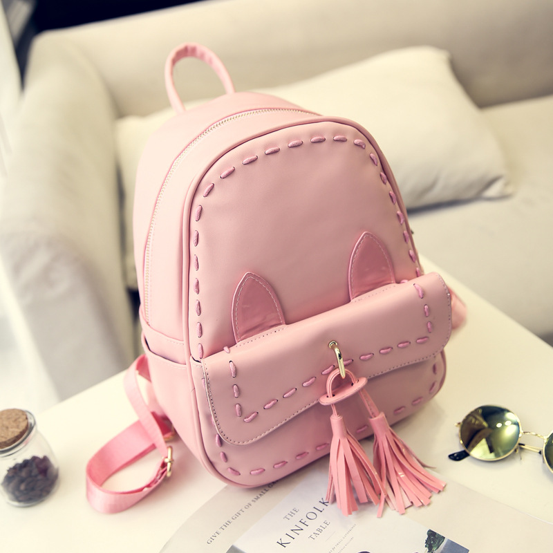 NEW Design PU leather Tassel Bag Women Weave Backpack Fashion and Casual Style Travel and School for Female High Quality ada instruments cosmo mini