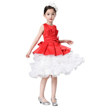 Baby Girl Dress Kids Children Baby Girls Sleeveless Bowknot Bubble Dress Child Clothing Princess Dresses for Party and Wedding
