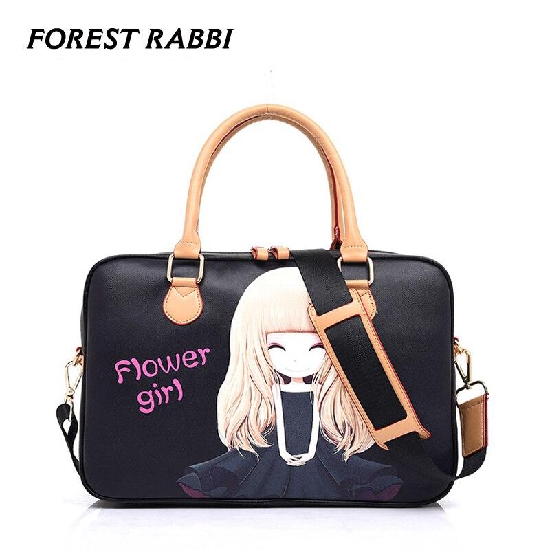 101314 15Inch Waterproof PU Laptop Cartoon Pattem Notebook Tablet Bag Bags Case Messenger Shoulder Sleeve for Girl Women