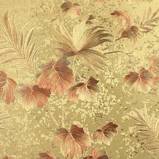 Fond d'écran Floral de luxe chinois papier peint doré 3D pour murs élégant salon chambre TV mur papier peint rouleau