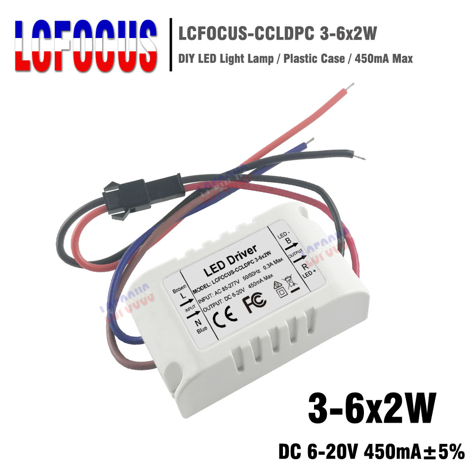 10-12 x 3W LED driver with case