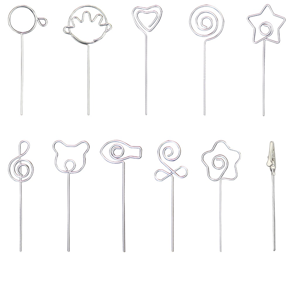 Lot 10pcs DIY Craft Metal 4