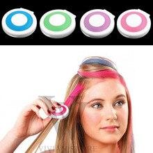 New Fashion 4 color/Set Hair Chalk Powder European Hair Color Temporary Pastel Hair Dye Color Paint Soft Pastels Salon Hot Sale