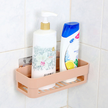 2016 Hot High Quality Cute Bathroom Corner Storage Rack Organizer Shower Wall Shelf with Suction Cup Wall Mounted  Shower Caddy