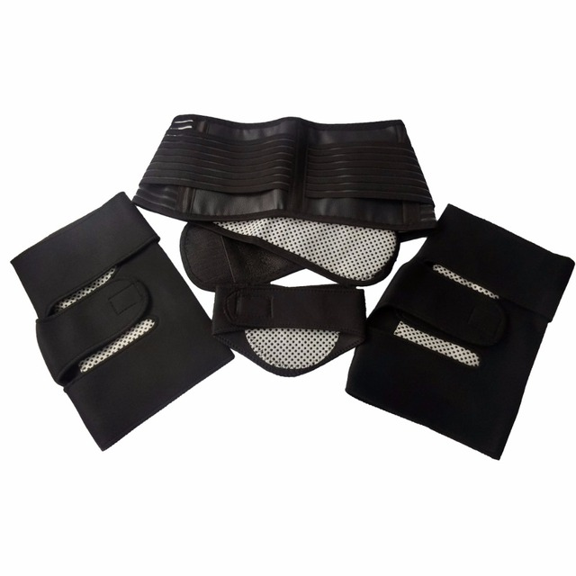 3-In-1 Tourmaline Belt Self Heating Massage Belt Magnetic neck waist knee pads For Relieve Pain & Keeping Warm