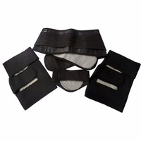 3 In 1 Tourmaline Belt Self Heating Massage Belt Magnetic Neck Waist Knee Pads For Relieve