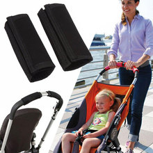 2Pcs Baby Pram Stroller Accessories Armrests Stroller Carriage Front Handle Bumper Bar Cover Wheelchairs Hand Protector