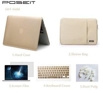 MacBook Pro 13 сетчатки | Для Apple Macbook Pro Retina Air Touch Bar 11 12 13 15 дюймов Жесткий Чехол для ноутбука + чехол + крышка клавиатуры + экран Flim + Пылезащитная заглушка