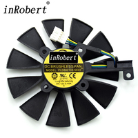 New Cooler Fan For ASUS STRIX GTX 960 970 1050 1070 RX 580 GTX980ti R9 390X